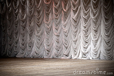 Theatrical stage background