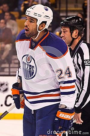 Theo Peckham Edmonton Oilers Editorial Stock Image