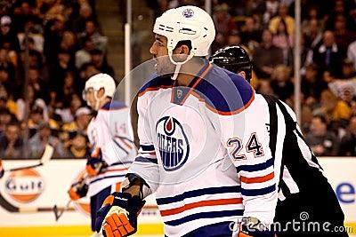 Theo Peckham Edmonton Oilers Editorial Photo