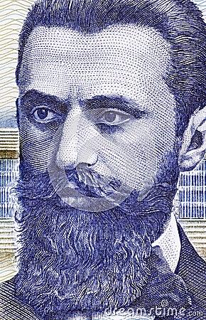 Theodor Herzl Editorial Photo