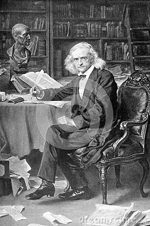 Theodor Mommsen Photographie éditorial