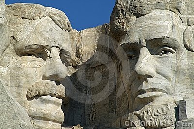Theodore Roosevelt and Abraham Lincoln