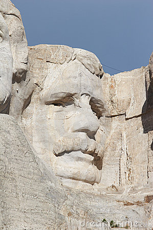 Free Theodore Roosevelt - Mount Rushmore National Memorial Stock Image - 1455871