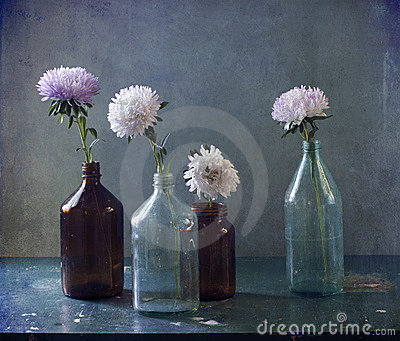 There are asters in-bottle