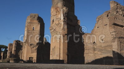 Thermae romains de Caracalla clips vidéos