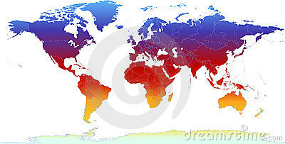 Thermal World Map