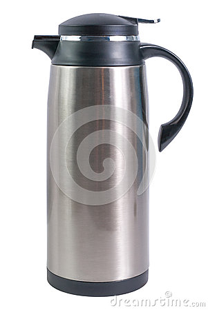 Free Thermo Flask For Hot Drinks Royalty Free Stock Image - 25114966