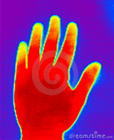 Thermograph-Hand