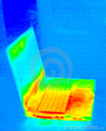 Thermograph-Laptop