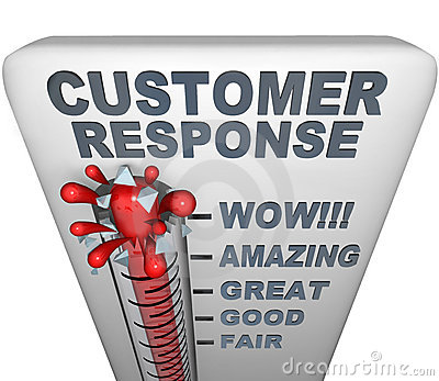 Thermometer - Customer Response