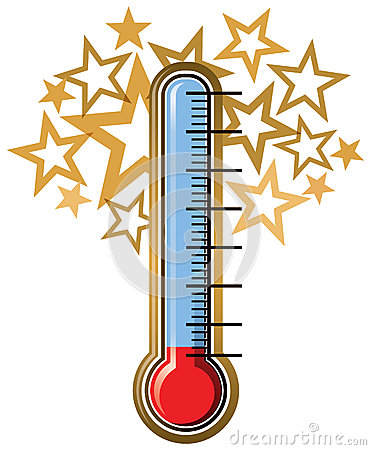 Free Thermometer Goal Royalty Free Stock Photos - 41599848