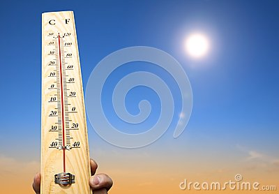 thermometer with high temperature