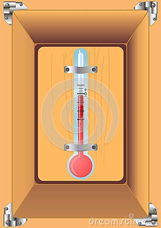 Thermometer home.