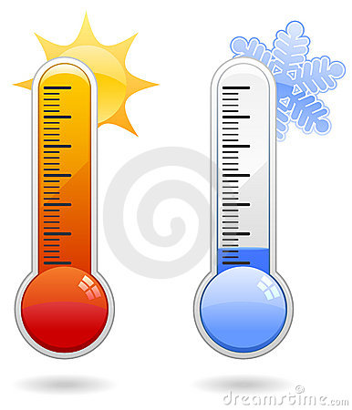 Free Thermometer Icons Stock Images - 16430844