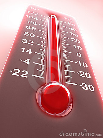 Thermometer Red Hot