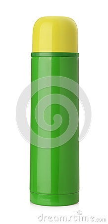 Free Thermos Flask Isolated Royalty Free Stock Image - 61525966