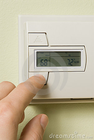 Free Thermostat Royalty Free Stock Photography - 4232417