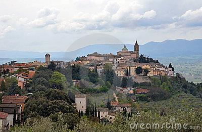 TheTown of Trevi, Umbria Italy