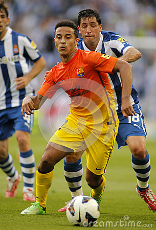 Thiago Alcantara of FC Barcelona Editorial Stock Image