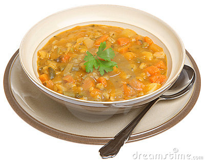 Thick Vegetable Soup Stock Images - Image: 15509374