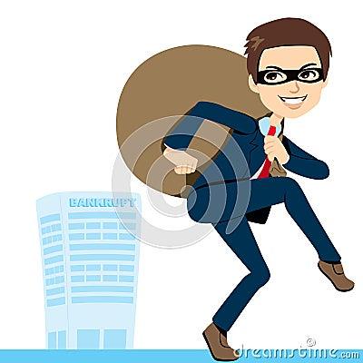 Thief Businessman Bankruptcy