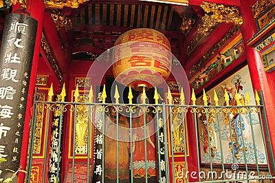 Thien Hau pagoda in Saigon
