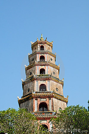 Thien Mu pagoda in Hue