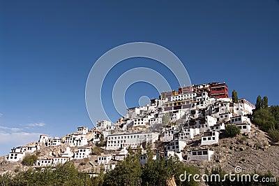 Thikse Monastery in Ladakh