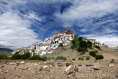 Thiksey Gompa or Thiksey Monastery