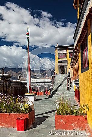 Thiksey monastery. Ladakhm, India