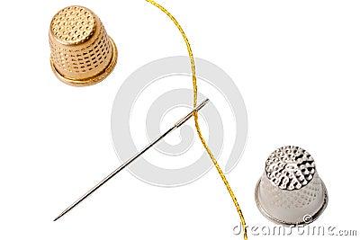 Thimble needle