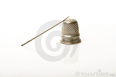 Thimble and needle