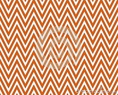 Seamless chevron pattern on linen texture stock photos image - Thin Bright Orange And White Horizontal Chevron Striped
