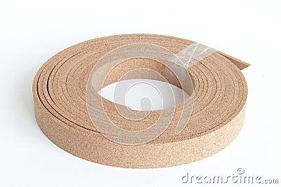 Thin cork roll