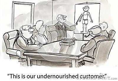 Thin customer
