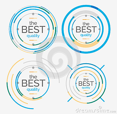 Thin line neat design logo set premium quality stock for Modern cleaning concept