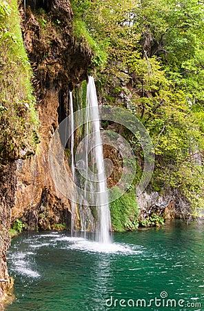 Thin waterfall