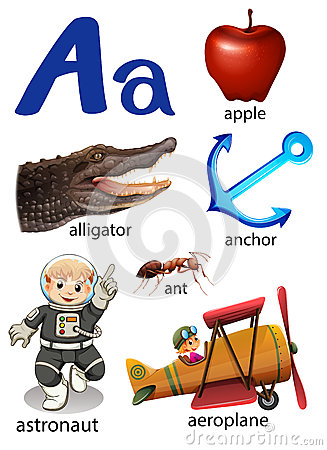 Free Things That Start With The Letter A Stock Images - 51271894