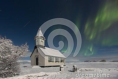 Thingvellir Church, Thingvellir National Park, Iceland