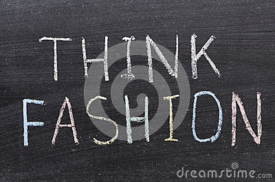 Think fashion