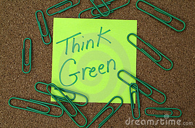 Think green office