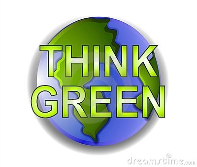Think Green Planet Earth Icon
