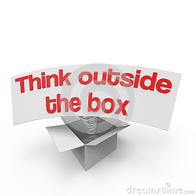Free Think Outside The Box VI Stock Image - 29066651
