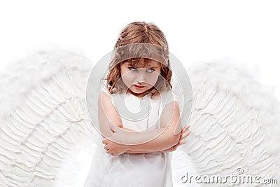 Thinking angel