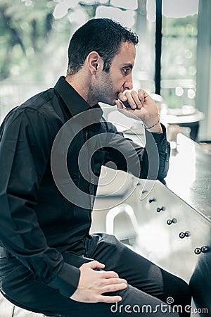 Thinking at the bar