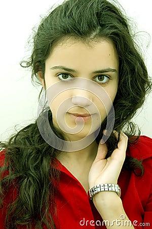 Free Thinking Girl Royalty Free Stock Images - 1780049