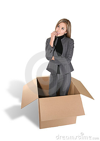Free Thinking Outside The Box Stock Photo - 1742240