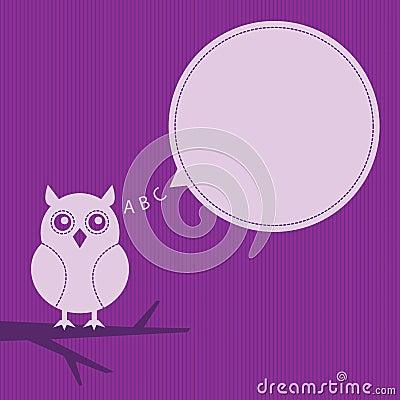 Thinking owl frame