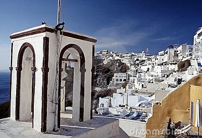 Thira, Santorini island, Cyclades, Greek