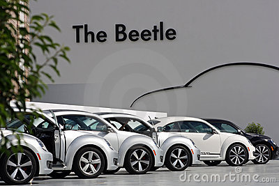Third-generation VW Beetle Editorial Photo
